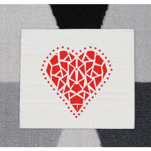 "Dishcloth ""hjärta"" by Mooncake #nordicdeigncollective #mooncake #heart #dish #cloth #kitchen #cleaning #shatteredheart"