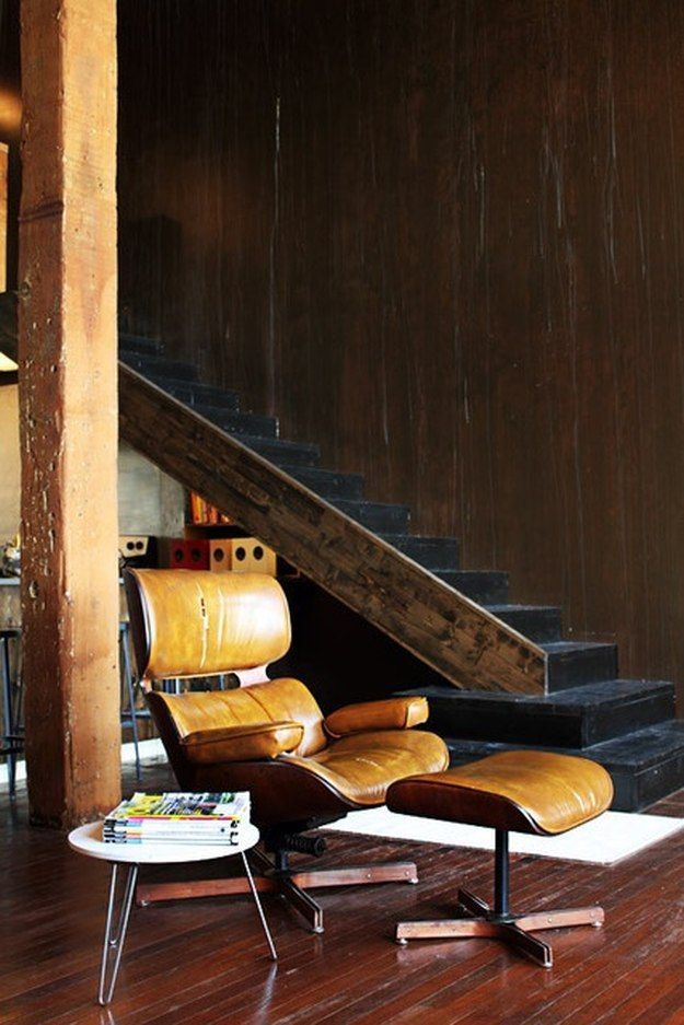 Eames Lounge Chair Cool Man Cave Ideas