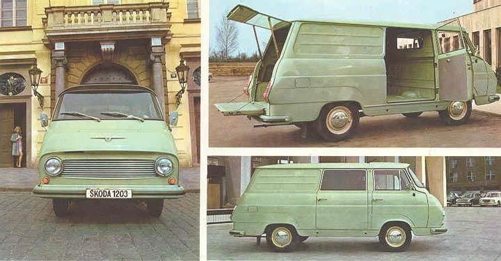Skoda 1203 Van
