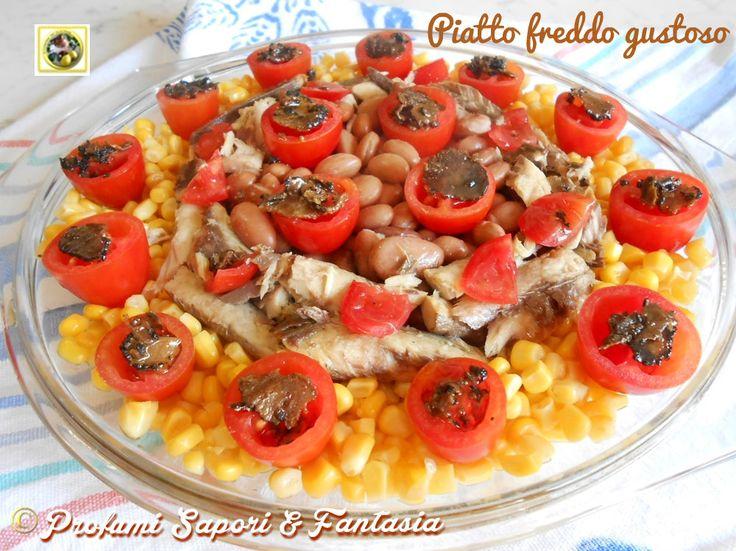 Piatto freddo gustoso  Blog Profumi Sapori & Fantasia