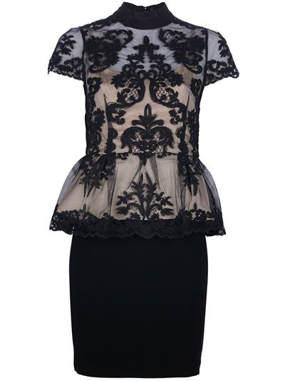 ALICE+OLIVIA - Lace Peplum Dress this is now in my closet :)