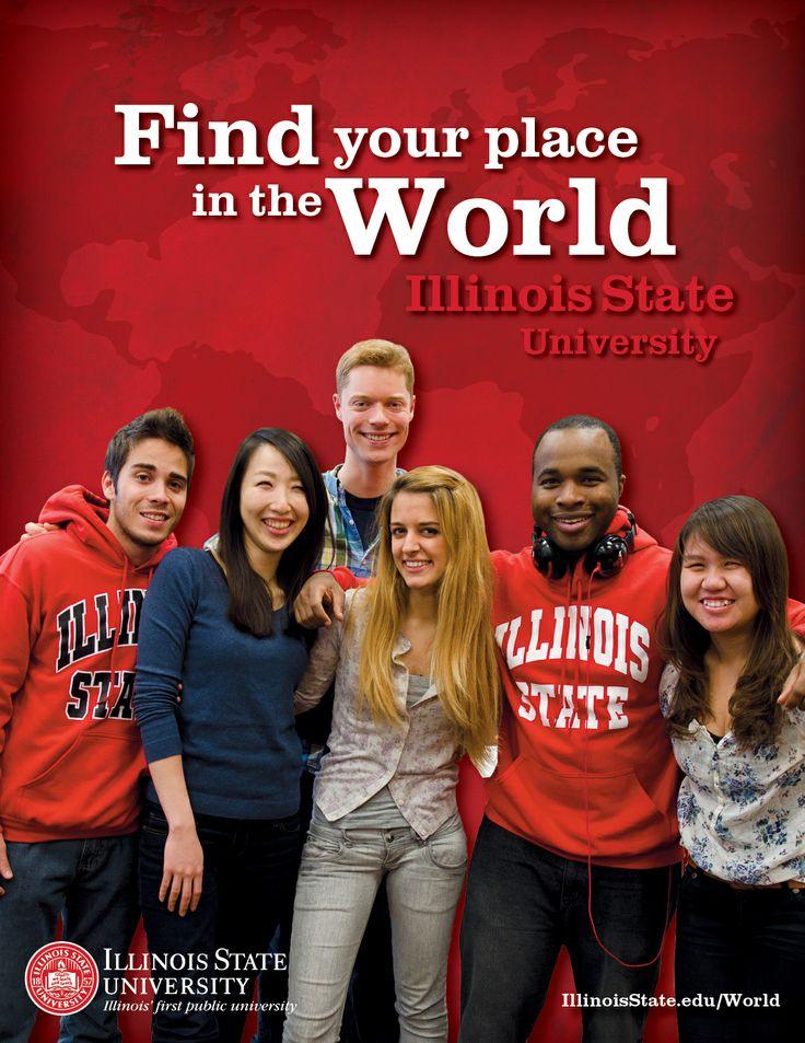 International student recruitment brochure, designed by