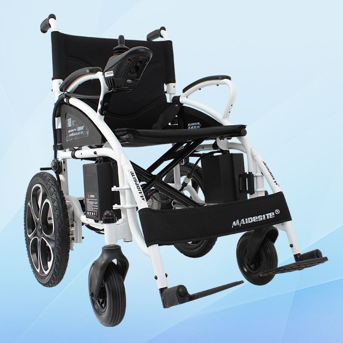 CE approved portable folding light weight handdicaped power electric wheelchair
