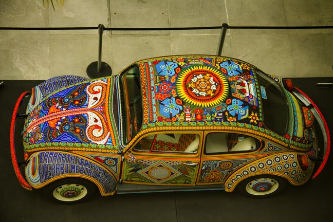 Huichol punch buggie, no punch back!