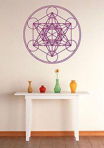 Inspirational Details zu Wandtattoo Aufkleber Metatrons W rfel Metatron us Cube heilige Geometrie Kreise