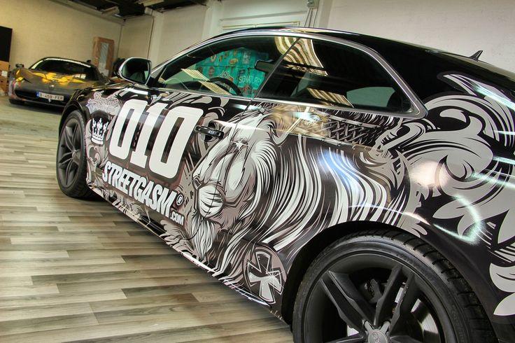 King Tiki Audi S5 Car Wrap Design Pinterest Audi