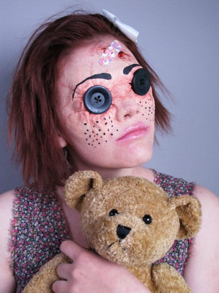 Best 25+ Gory halloween makeup ideas on Pinterest | Special ...