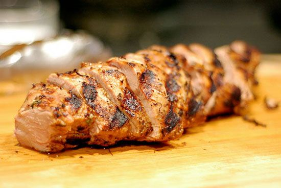 Bourbon-Marinated Pork Tenderloin