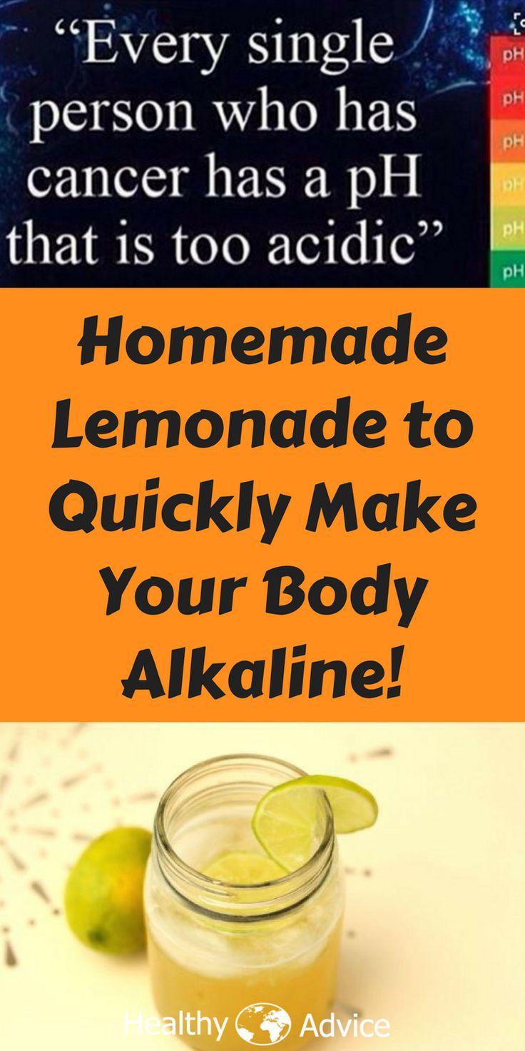 body | alkaline body | alkaline body | homemade | homemade lemonade | cancer | acidic |