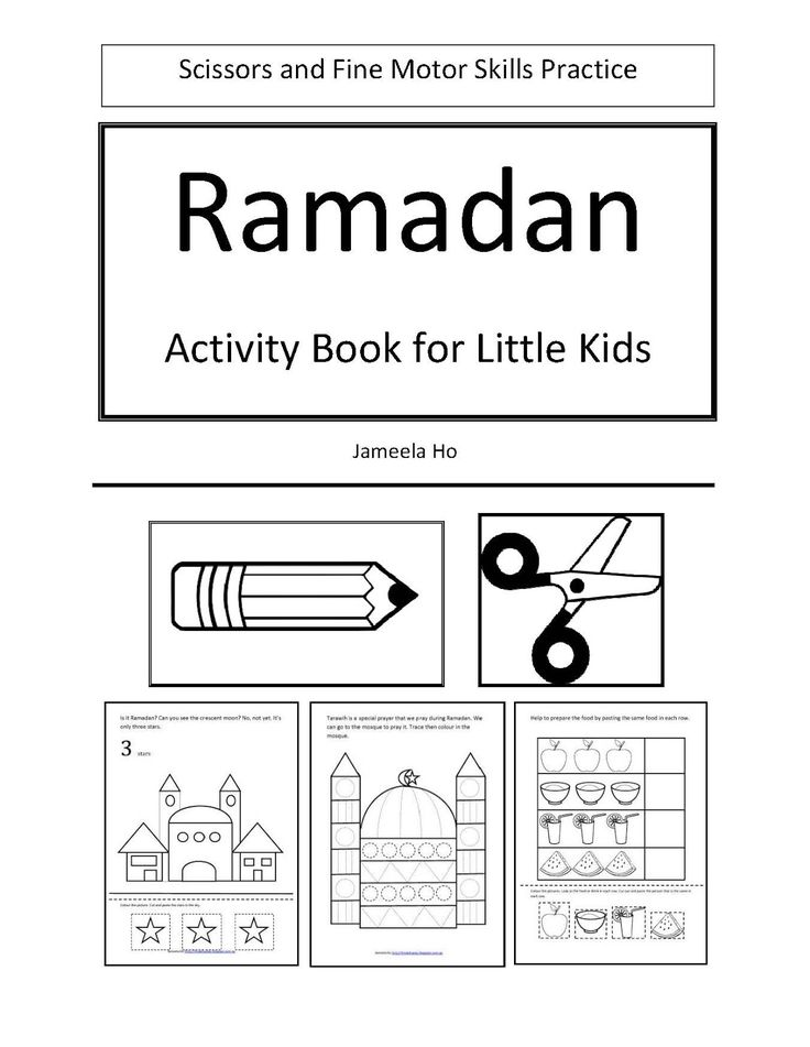 ILMA Education's EDUPARENTING: Free Download: Ramadan Activity Book for Little Kids