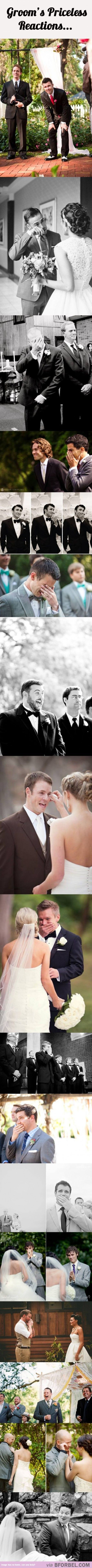 If my husband doesn't react like this, I'm turning around.