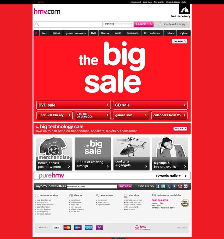 HMV Sale
