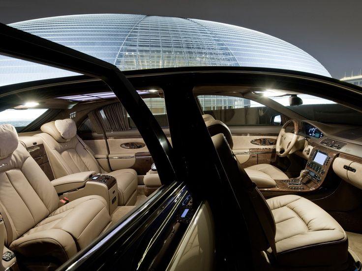 8 Million Maybach Exelero Interior Super Cars Maybach