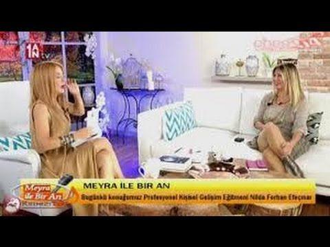 """Nilda Ferhan Efeçınar,"""" Meyra ile 1AN"""" programında gizemli konular üzeri..."""