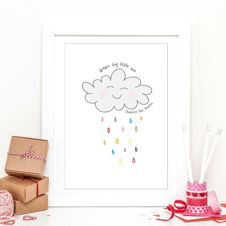 Little Dreams Personalised Print