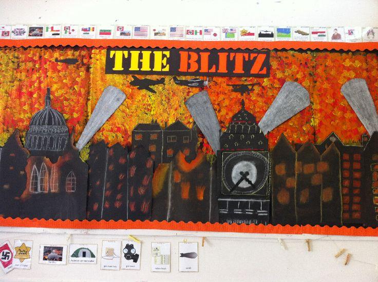 The Blitz classroom display photo - SparkleBox