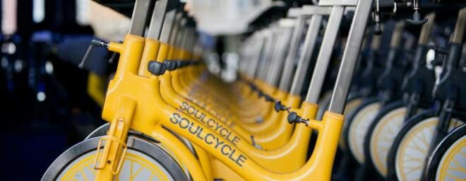 We do agree that the #soulcycle bikes are cool because the color is very upbeat and bright.  I hope to have a @SoulCycle #IndoorCycling bike in my studio soon.  I am sure that many of you love the color like we do