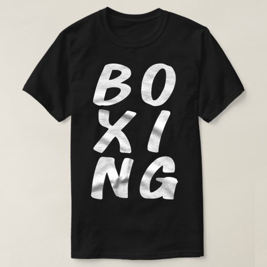 Boxing Custom Shirts