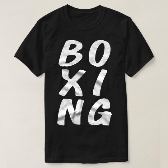 Boxing Custom Shirts