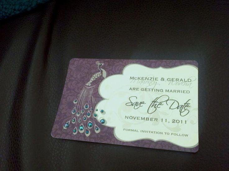 How To Design Save The Date Cards
