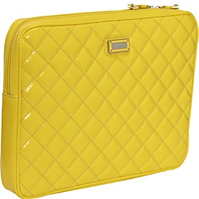 bright yellow laptop sleeve!