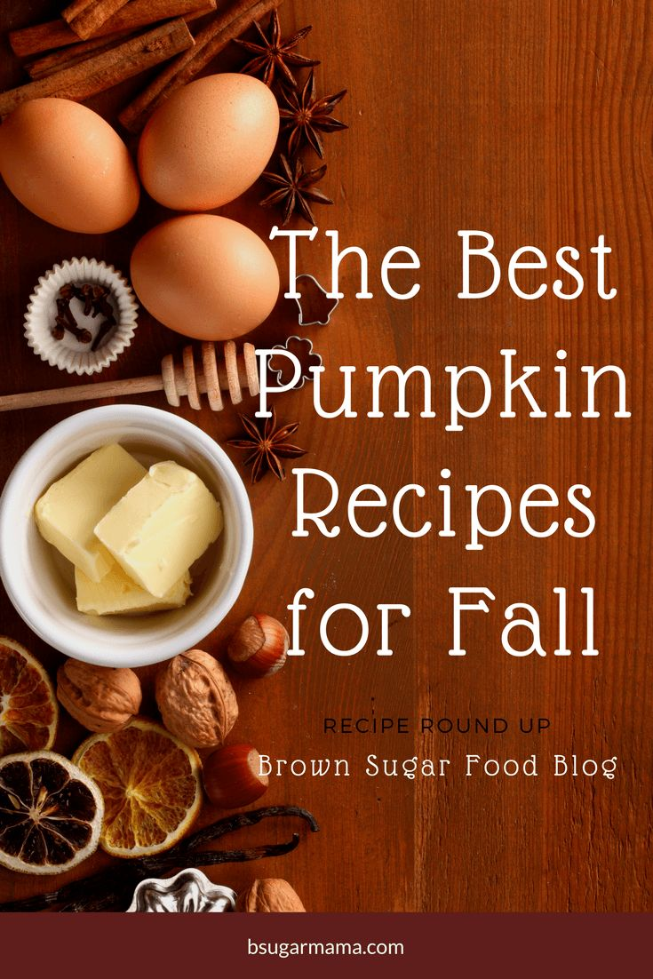 The Best Pumpkin Recipe for Fall: Here is a recipe round up for the best pumpkin recipes on my blog. These pumpkin recipes are simple and easy to make and perfect for fall baking.