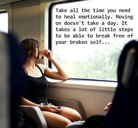 I love this! But I don't believe anyone is broken...just need to find our way!