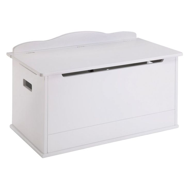 Guidecraft Expressions White Toy Box - G87103