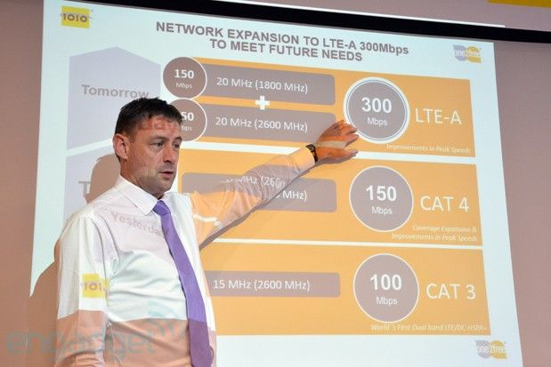 Hong Kong's CSL demos 300Mbps LTE Advanced service, due early 2014 (video)