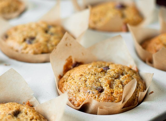 Pumpkin Chocolate Chip Muffins | Something Sweet | Pinterest