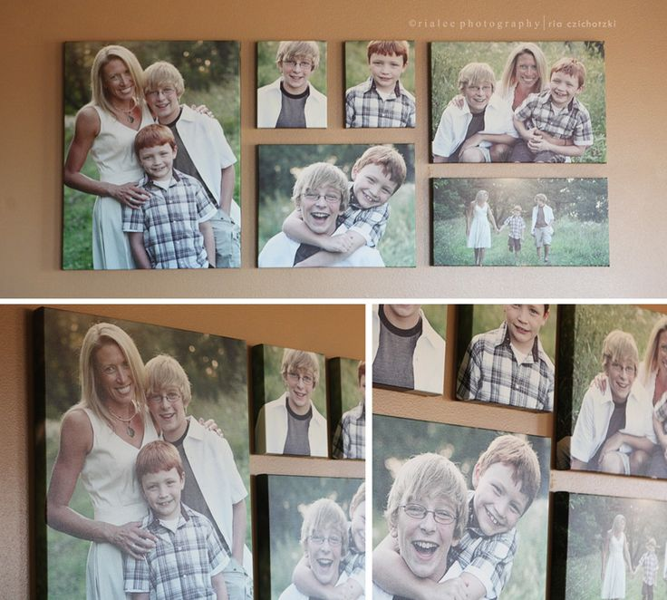 gallery canvas groupings | more photos as art ~ [custom photographer north dakota] | Rialee ...