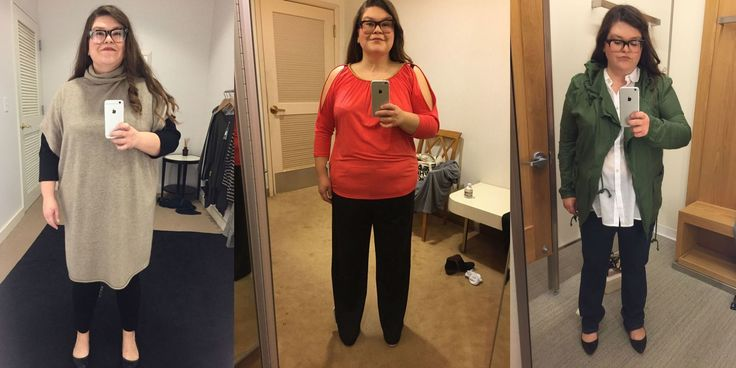 """Size 16 Woman Asks 5 Stylists to Dress Her in """"Flattering"""" Outfits - Cosmopolitan.com"""