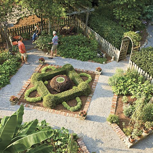 129 Best Images About French Parterre Gardens On Pinterest