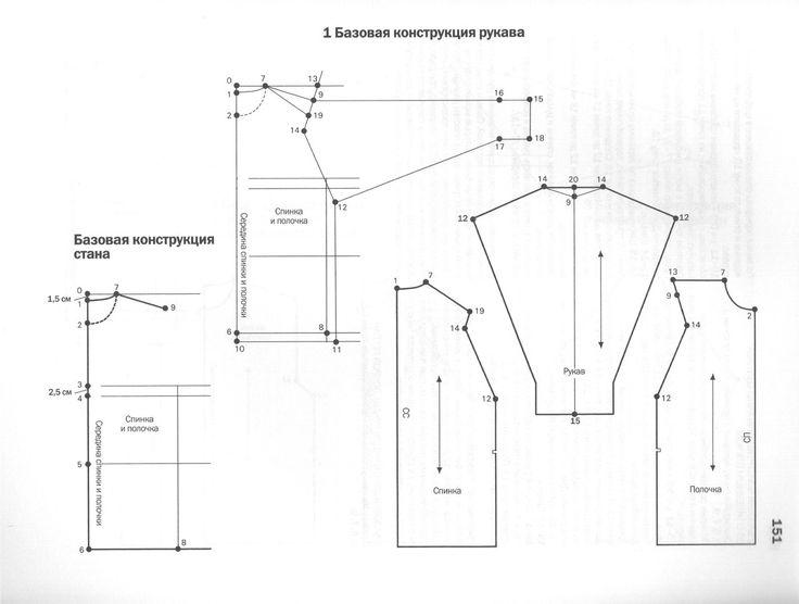 Базовые конструкции для трикотажа. У. Алдрич. Хорошие результаты дает конструирование простых вещей по методике Алдрича. Удачные лекала для трикотажных изделий. Покрой реглан и втачной рукав. Толстовки, свитшоты.  Мастерская Ангел А | ВКонтакте