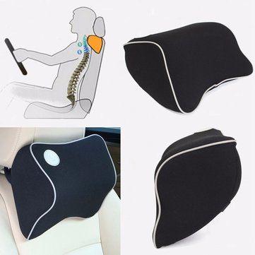 Siège de voiture mémoire de l'appui-tête de coton de mousse soutien du cou oreiller Voyage de coussin de repos