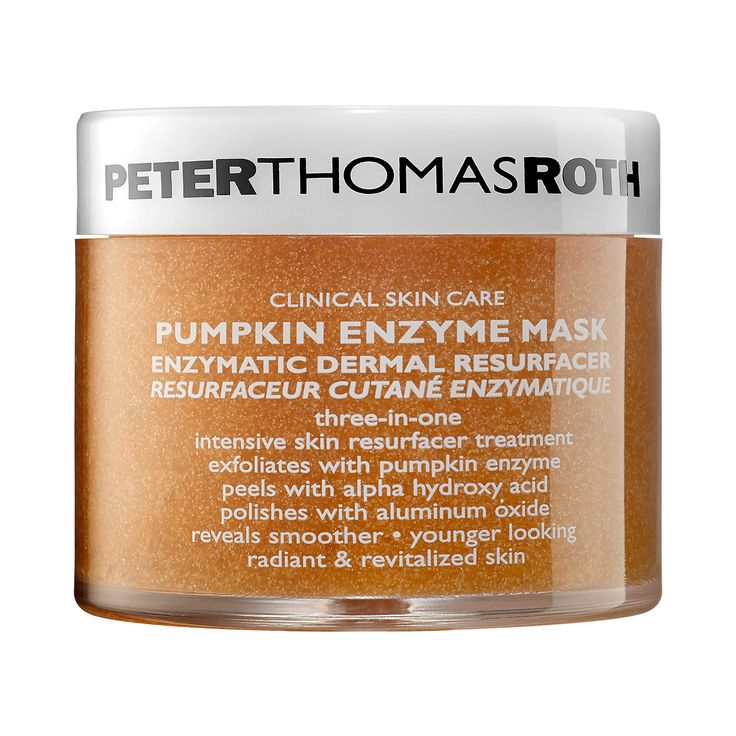 Pumpkin Enzyme Mask - Peter Thomas Roth | Sephora  AHA's