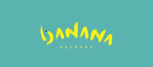 banana records logo designs
