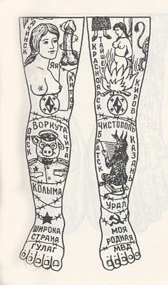 russian prison tattoo 25 by Norveg, via Flickr