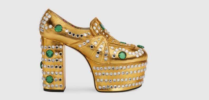Tutte le Scarpe Gucci primavera estate 2017 per un Look da Star