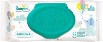 Pampers Sensitive Baby Wipes (56)