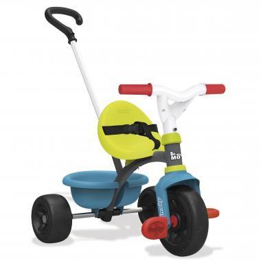 Smoby Be Move driewieler - blauw/groen  Laat je kindje de omgeving ontdekken op zijn driewieler. Deze driewieler is ideaal om op te leren rijden zowel binnen als buiten.  EUR 34.99  Meer informatie