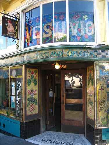 Vesuvio in North Beach (next to famous City Lights) is always a favorite for drinks and people watching...