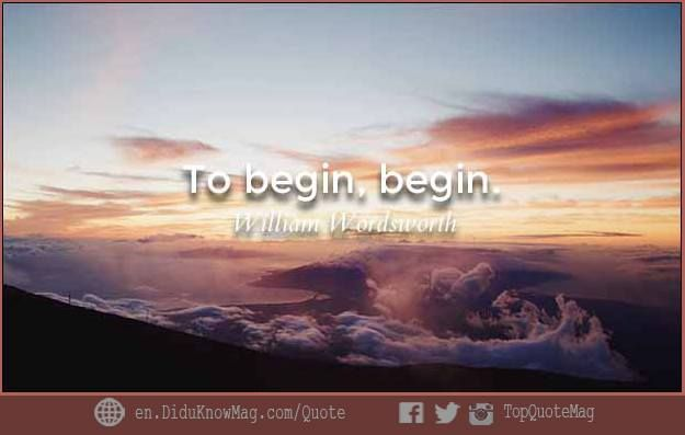 Quote 74  William Wordsworth #Quote