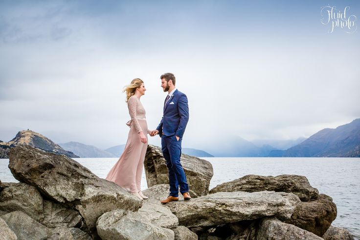 Wedding at Waterfall Creek on the western shores of Lake Wanaka offering spectacular lake and mountain views. Wedding organised by www.theweddingcompany.co.nz Photograph by www.fluidphoto.com