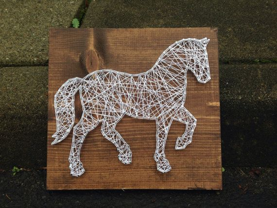 MADE TO ORDER- Horse String Art
