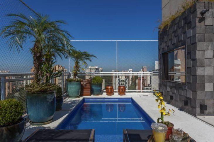 Área de lazer com piscina 85 ideias para você se inspirar e criar a