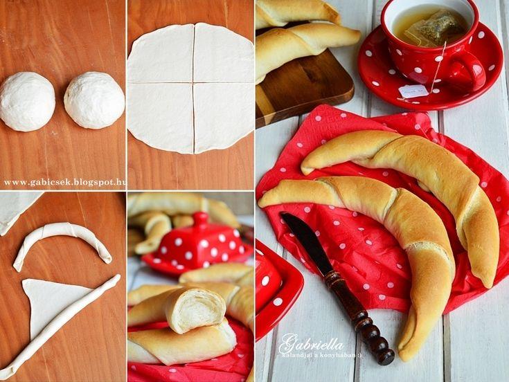 Gabriella kalandjai a konyhában :): Villámgyors tejes kifli - kelesztés nélkül