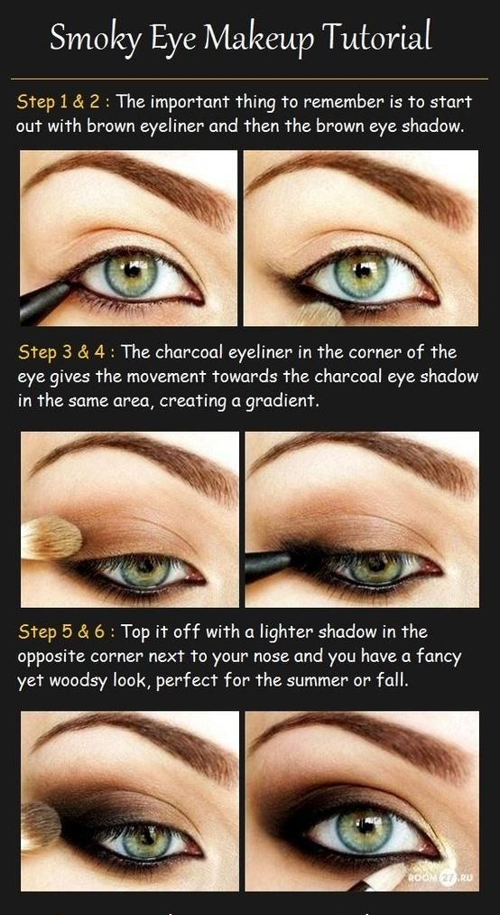Smoky Eye Makeup Tutorial Really need to learn how to do my make-up before my wedding...