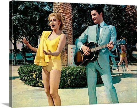 Ann-Margret and Elvis Presley in Viva Las Vegas - Movie Still