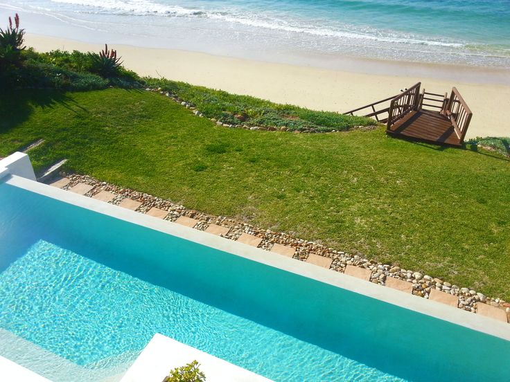 View from the pool at The Sands in St Francis, South AFrica